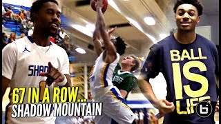 SHADOW MOUNTAIN Brought Out The SAUCE For Their 67th WIN IN A ROW vs Arizona Teams! TOO OP!