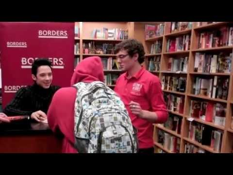 Sneaky Pete meeting Johnny Weir