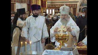 Православные югорчане отмечают Крещение Господне