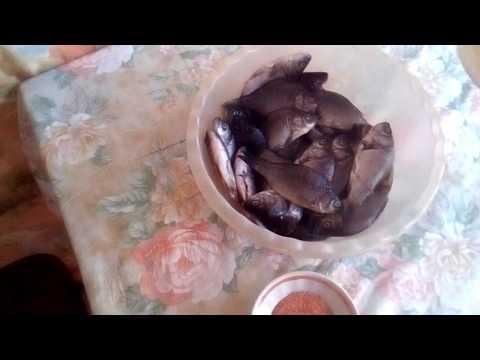 Жареная рыба фри. Узбекский рецепт приготовления мелкой рыбы. (Сай балык)