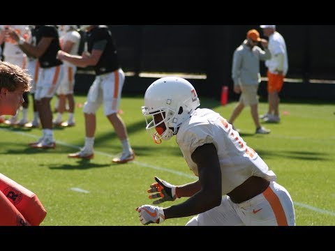 Tennessee Spring Football Practice #13