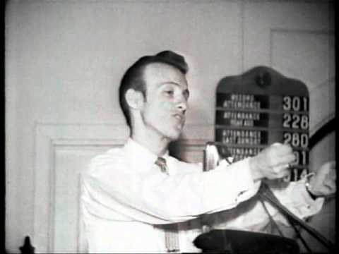 1950s preacher vs. rock