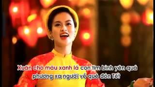 Như hoa mùa xuân karaoke- Nhật Linh Sao Mai
