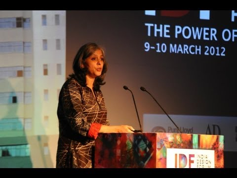 Sujata Keshavan on design and Indian identity (IDF talk)