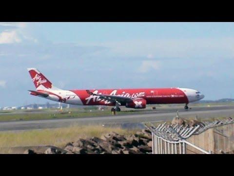 AIRASIA X INAUGURAL LANDING AT SYDNEY AIRPORT
