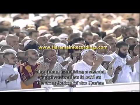 Douaa qui fait pleurer cheikh soudais tres emouvant
