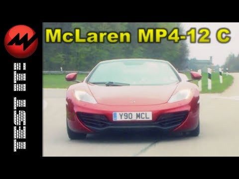 McLaren MP4-12C Spyder - Test it