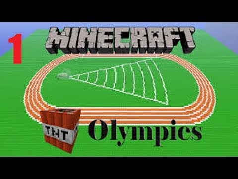 The Minecraft Olympics Ep 1 The Summer Winter Games