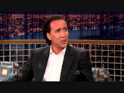 "Nicolas Cage on ""Late Night with Conan O'Brien"" - 2/15/07"