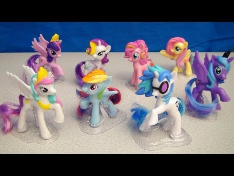 MCDONALDS MY LITTLE PONY 2014 FRIENDSHIP IS MAGIC HAPPY MEAL TOY VIDEO REVIEW