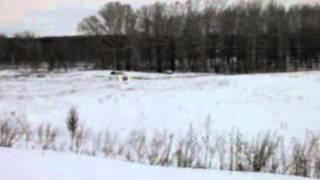 Зимний тест драйв Mitsubishi Outlander 2012
