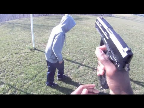 CHASING KIDS WITH AIRSOFT GUNS!