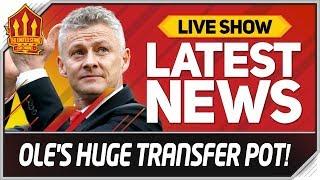 Solskjaer's 250 Million Transfer Jackpot! Man Utd News