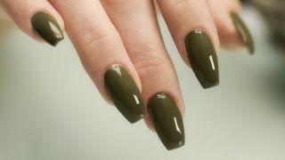 Coffin - Ballerina Shaped Nails