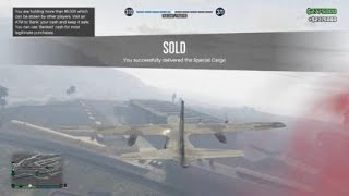 Grand Theft Auto 5 Online Selling A Full Cargo Warehouse For 2,700,000$$+ SOLO
