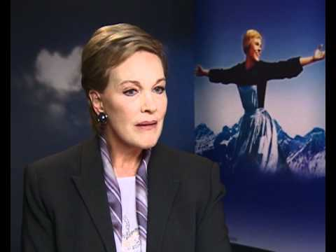 Julie Andrews interview on playing Maria von Trapp