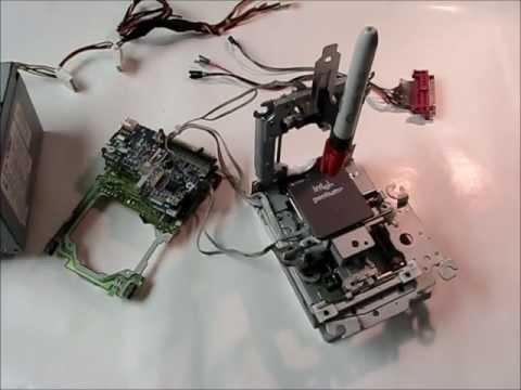 DIY FLOPPY DRIVE CNC: Part 9 - Final Assembly Overview