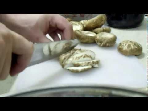Как приготовить шиитаке - видео