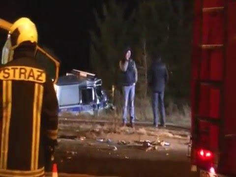 Wypadek W Wiślince - Pełny Materiał I Alarmowo Radiowozy Oraz Karetki
