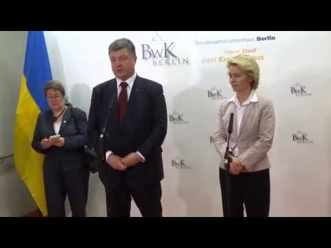 Жена Порошенко пукнула на официальном приёме,немцы в шоке! Новости Сегодня