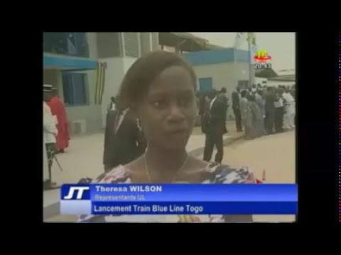 Lancement Train Blue Line Togo