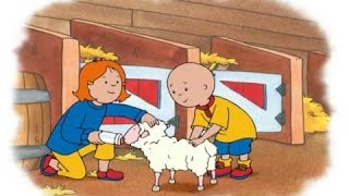 ᴴᴰ BEST ✓ Caillou - Caillou Elephants! | Caillou & the Sheep | Caillou & the Puppies |  (S03E03) NEW
