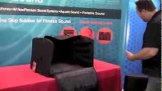 Portable Speaker Bag - AVNow.com 800-491-6874