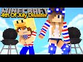 MINECRAFT - BABY DUCK HAS A 4TH OF JULY DISASTER!! w/ LITTLE ...