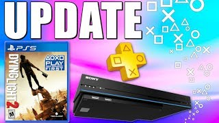 PS5 RELEASE DATE Reveal - PS PLUS FREE Games Bonuses - 12 NEW PS4 GAMES This Week (Playstation News)