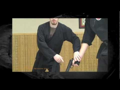 Online Ninjutsu Lesson - Gun Disarm Training with Airsoft Pistols Image 1