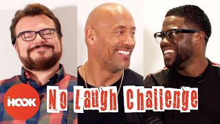 DWAYNE JOHNSON, KEVIN HART & JACK BLACK Try To Make Each Other Laugh | Jumanji | The Hook