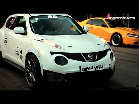 Nissan Juke-R and Jeep SRT-8 Twin Turbo - Unlim 500+ 2012. SUV TOP-3
