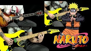 """NARUTO """"Strong"""" guitar medley - Strong And Strike + Need To Be Strong"""
