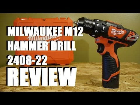 Milwaukee M12 Newer Brushed 3/8