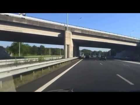 First convoy of MH17 victims on A2 motorway, The Netherlands