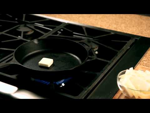How to make a homemade burger – #4 – Adding butter to a pan — Appetites®