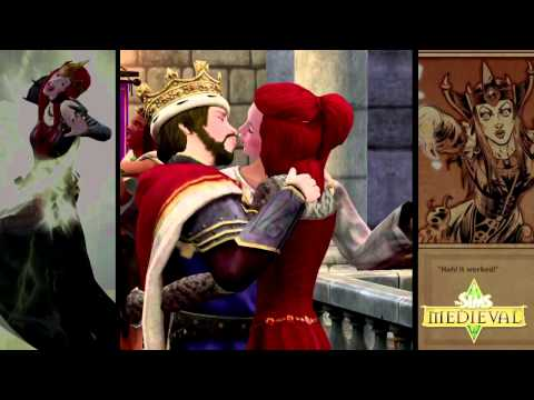 The Sims Medieval HD video game launch trailer