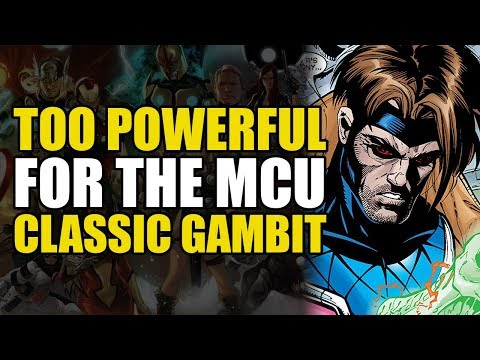 Too Powerful For Marvel Movies: Classic Gambit/New Sun