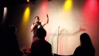 Ethiopian standup comedian Mo hersi