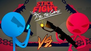 STICK FIGHTER GAME!! STICK FIGHT BOYFRIEND vs GIRLFRIEND! (Stick Fight: The Game)