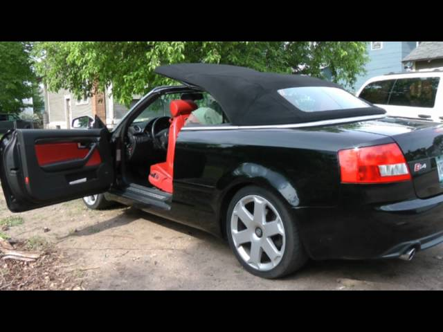 How to Manually Operate 2005 B6 Audi S4 Convertible Top ...