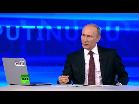 Putin's annual Q&A session 2014 (FULL VIDEO)