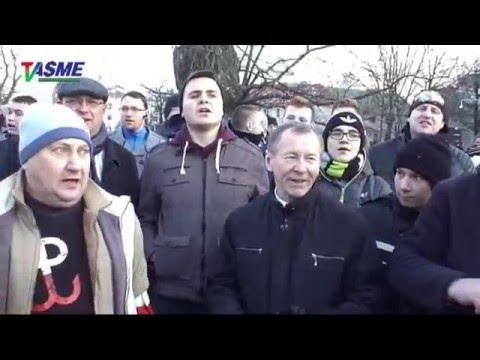 KOD Vs Nacjonaliści - Demonstracje W Lublinie Z Udziałem Unioposła I Prezesa KNP Michała Marusika