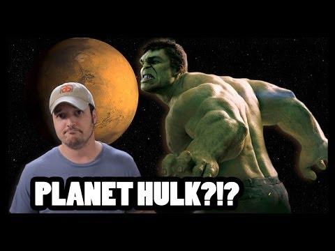 Could Planet Hulk Be a SMASH? - CineFix Now