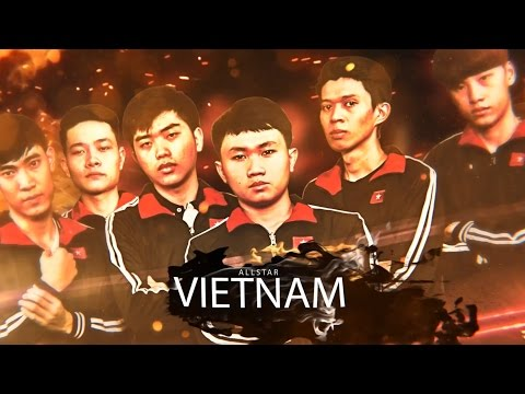 VIETNAM All-Stars [Team intro] | gtv