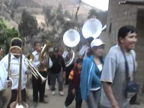 Gran baile pueblo de PAMPAP - Pamparomas 2010 (Video 4)