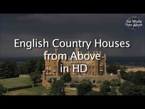 English Country Houses from Above in High Definition - HD
