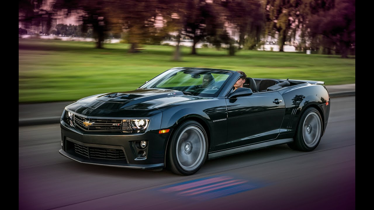 Chevrolet Camaro Zl1 Convertible Road Test Youtube