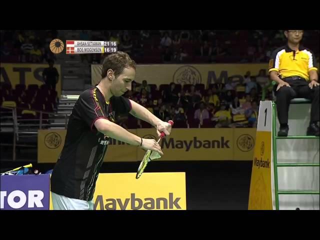 M. Ahsan/H. Setiawan vs M. Boe/C. Mogensen | MD SF Match 3 - Maybank Malaysia Open 2015