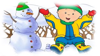 Cartoon | Caillou's Christmas Snowman and Santa Full Episode Compilation | Cartoons for Children